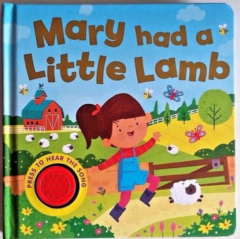 kids/baby sound book Mary had a Little Lamb NEW!!!