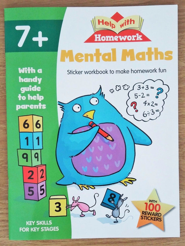 HWH Mental Maths Ages 7+ - Children Store Co.