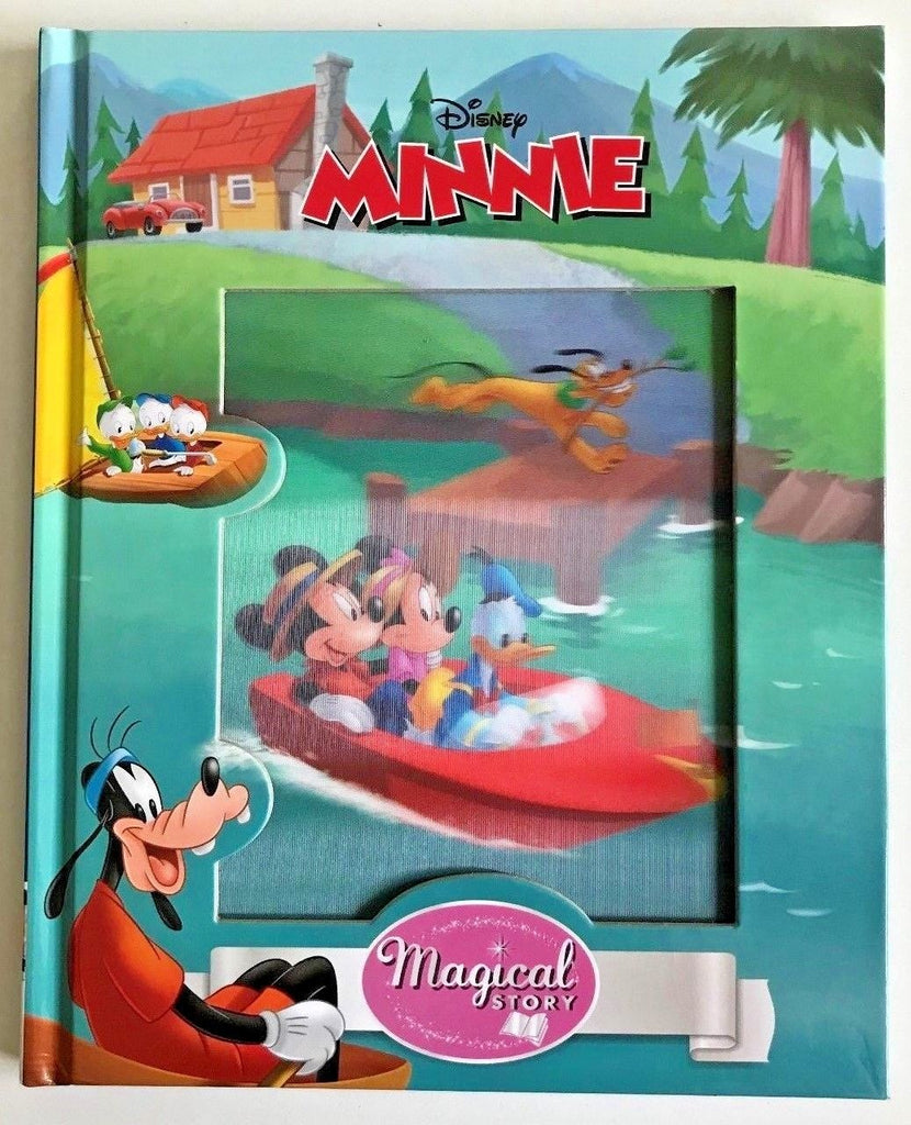 "Dinsey ""Minnie"" magical story book 3D cover hardback NEW!!!"