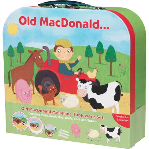 Old Mac Donald: Melamine Tableware Set Brand New!!!! - Children Store Co.
