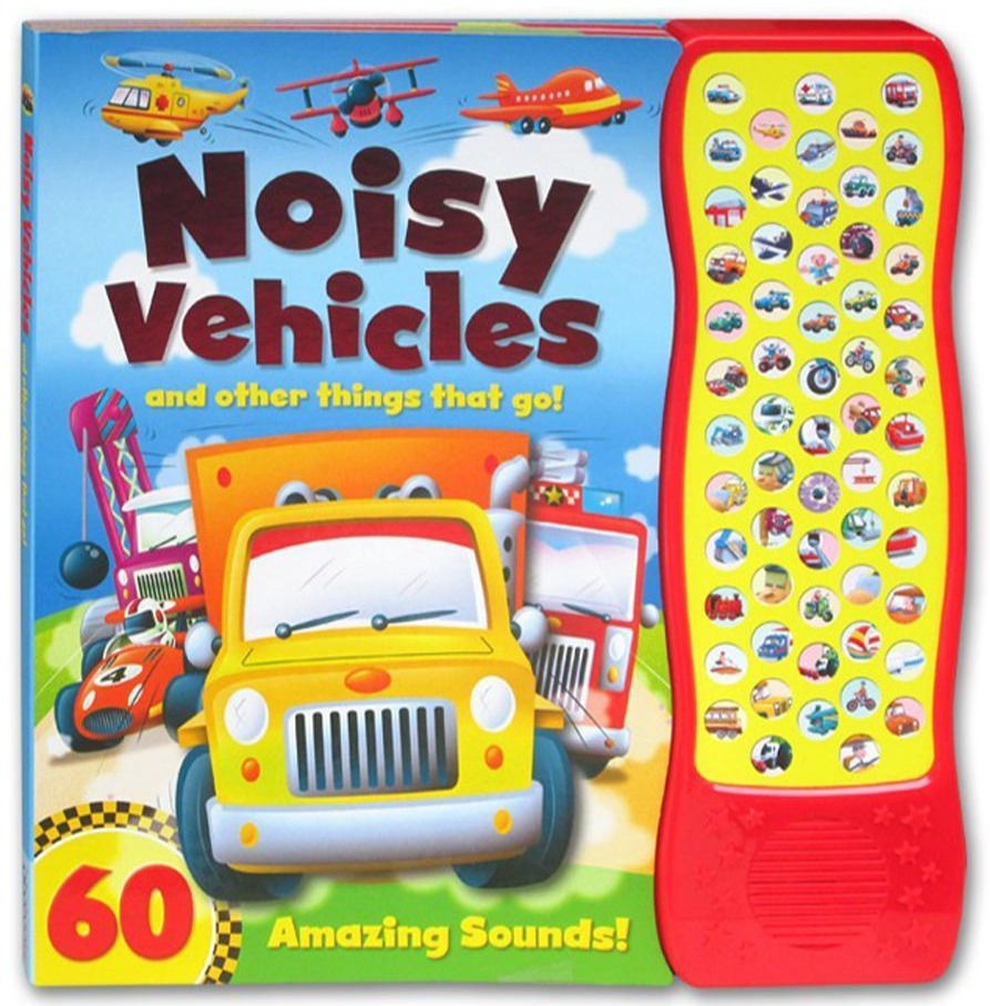 Baby's / Kids Noisy Vehicles Sound book Hardback - Children Store Co.