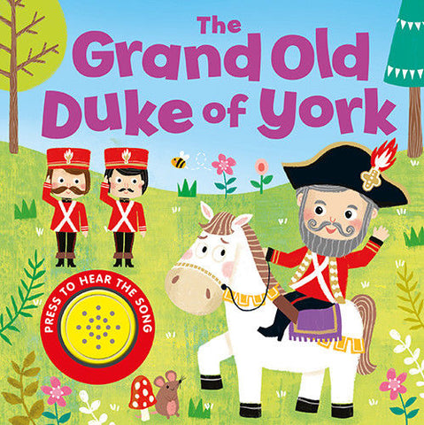 Baby/Kids Sound book The Grand old duke of york hardback V Good Condition!!! - Children Store Co.