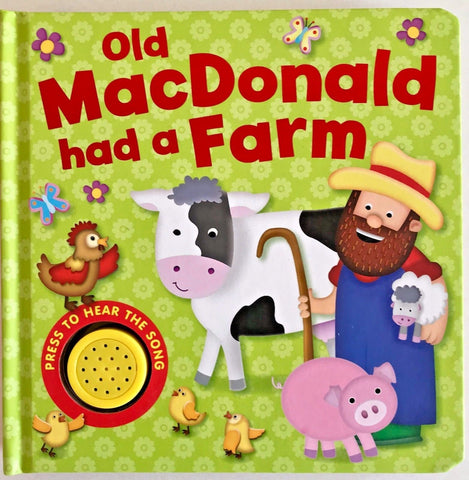 Kids/Baby sound book Old Mac Donald farm (NEW)!!! - Children Store Co.