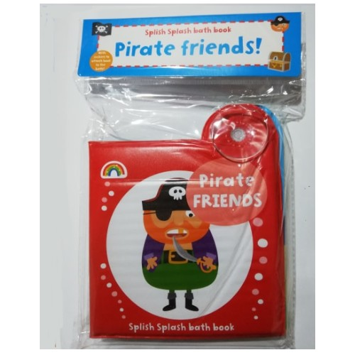 Baby/Kids Pirate Friends Bath book NEW!!!! - Children Store Co.