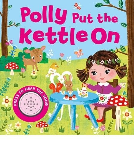 Baby/Kids Sound book Polly put the Kettle On hardback Like New!!! - Children Store Co.