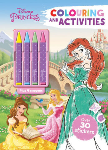 Disney Princess Colouring and activities - Children Store Co.