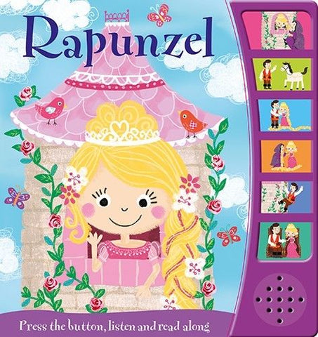 NOISY READERS: RAPUNZEL by igloo books (NEW)!!!