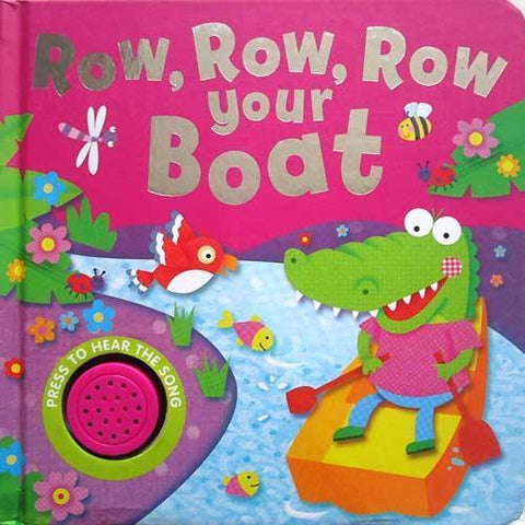 Kids/Baby Row Row Row your boat one button sound book New - Children Store Co.