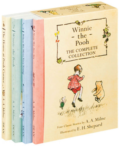 Winnie the Pooh Complete Collection 4 Books Box Set Classic Kids Fiction New!!!! - Children Store Co.