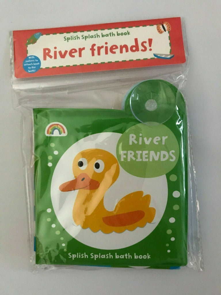 Baby/Kids River Friends Bath book NEW!!!! - Children Store Co.