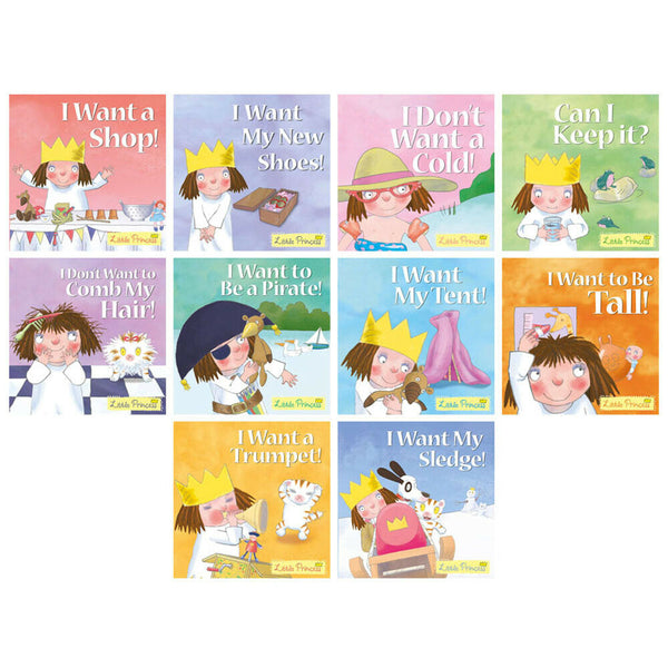 Little Princess 10 Book Set Collection Brand New!!!!! - Children Store Co.