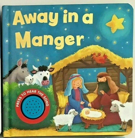 Copy of Baby/Kids Sound book Away in a Manger hardback NEW!!! - Children Store Co.