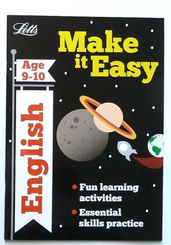 Letts Make it Easy English Ages 9-10 yrs workbook NEW!!!! - Children Store Co.