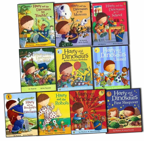 Harry and The Bucketful Of Dinosaurs Collection 10 Books Set - Children Store Co.