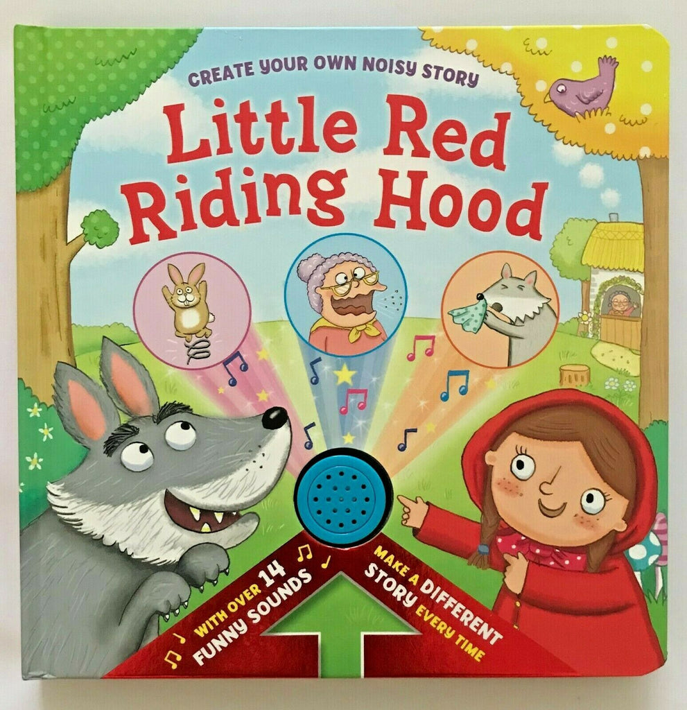 Baby / Kids Little Red Riding hood 14 funny sounds NEW!!! - Children Store Co.