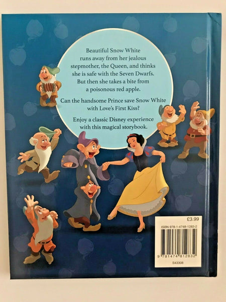 Disney Princess Snow White & the Seven Dwarfs Magical Story book NEW!!!!