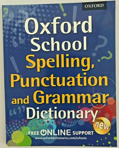 Oxford Grammar, Punctuation and spelling Dictionary KS2 Ages 7+ - Children Store Co.