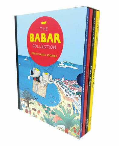 DEAN The Babar Collection: Four Classic Stories By Jean De Brunhoff 4 books collection Slipcase - Children Store Co.