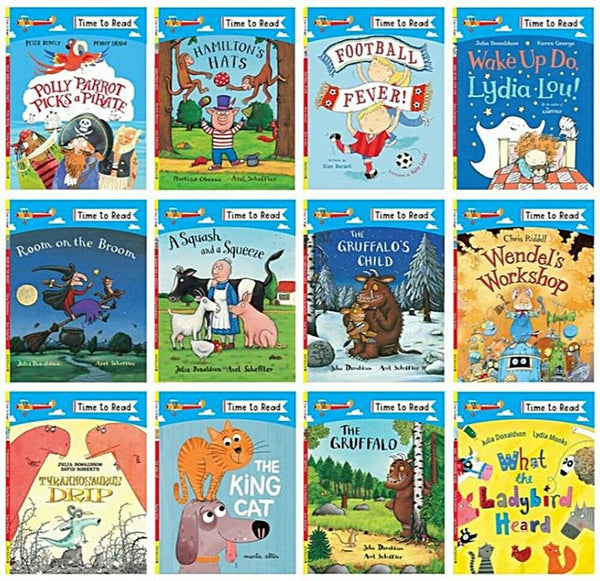 Time to Read 12 Books Collection Paperback Ages 5+ Years Slipcase!!!! - Children Store Co.