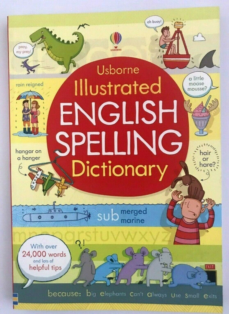 Usborne Illustrated English Spelling Dictionary - Children Store Co.