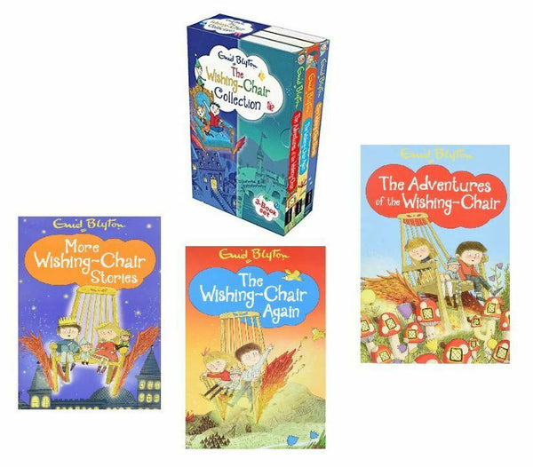 Enid Blyton The Wishing Chair 3 books Collection Slip Case DEAN Brand New - Children Store Co.