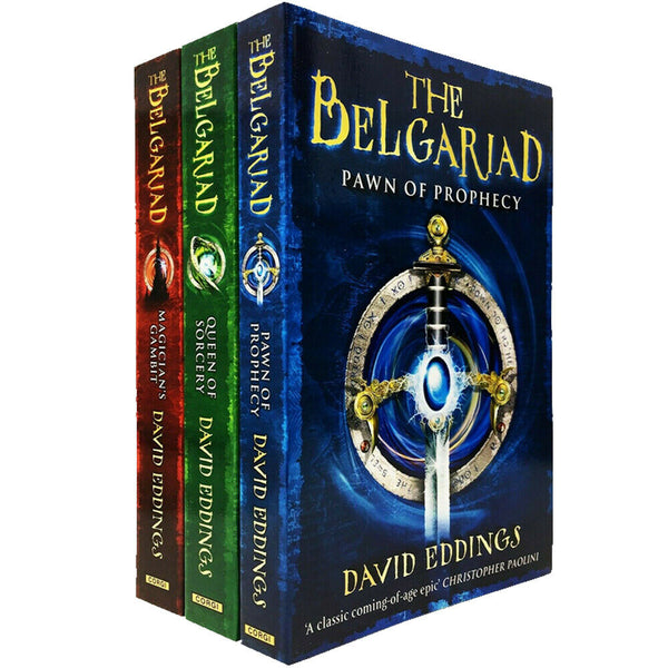 David Eddings The Belgariad Series 3 Books Collection Set Children Fiction Ages 9+ Paperback - Children Store Co.