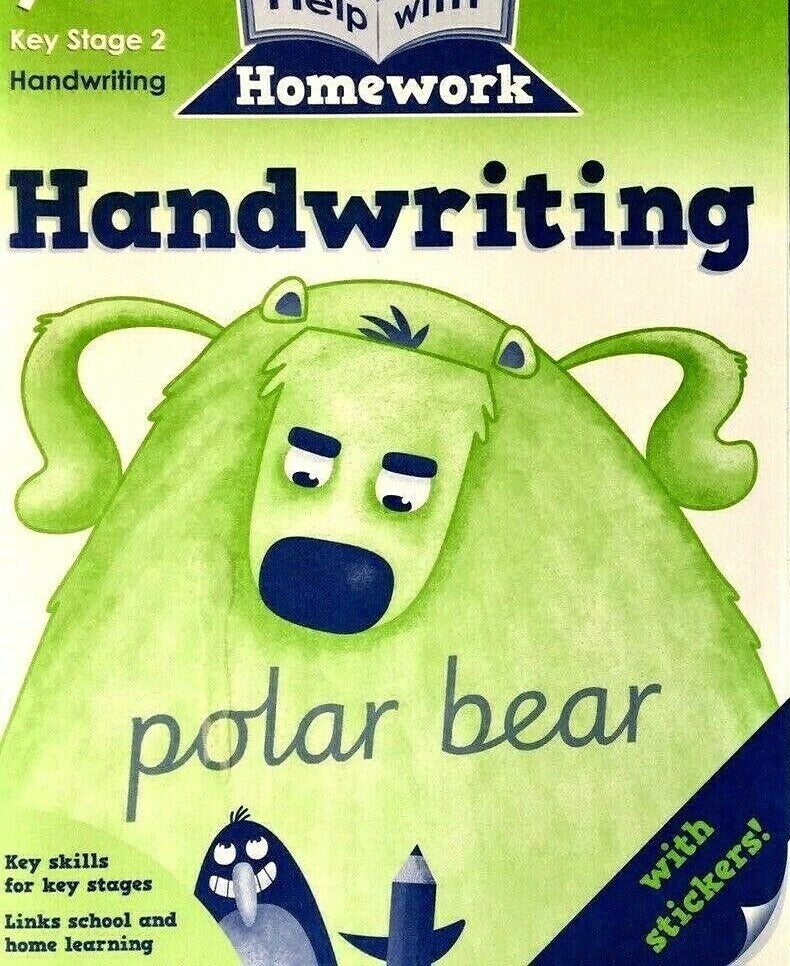 Help with Homework Handwriting Workbook Ages 7+ KS2 NEW!!! - Children Store Co.