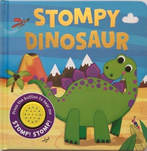 Baby/kids Stompy Dinosaur Sound book NEW!!!!