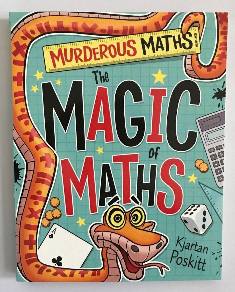 Murderous Maths The Magic of Maths Ages 9+ NEW!!! - Children Store Co.
