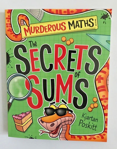 Murderous Maths The Secret of Sums Ages 9+ - Children Store Co.