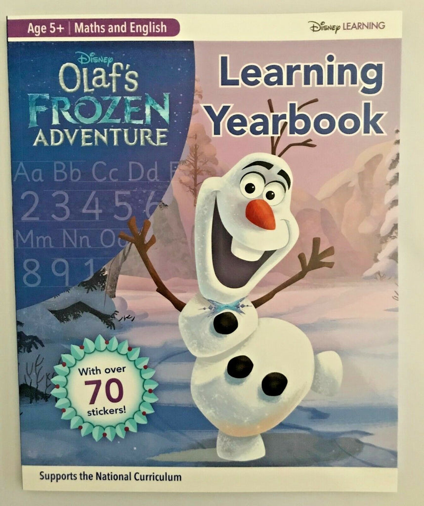 Disney Learning English & Maths Learning workbook (Ages 5+) NEW!!! - Children Store Co.