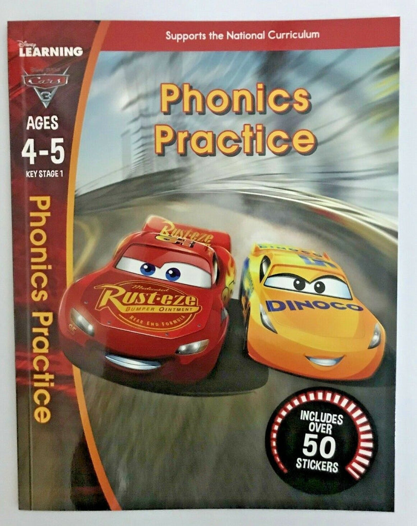 Disney Learning Phonics Practice Workbooks Ages 4-5 - Children Store Co.