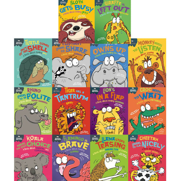 Sue Graves Behaviour Matters Series 14 Books Collection Brand New!!!!!! - Children Store Co.