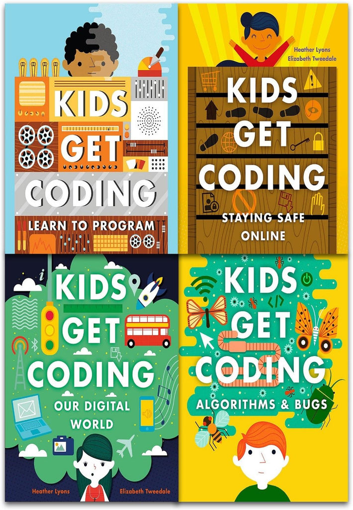 Kids Get Coding Collection - 4 Books (Collection) - Children Store Co.