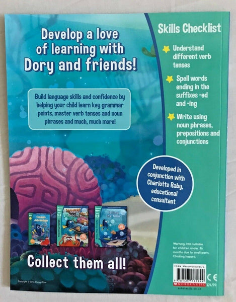 Disney Learning Finding Dory Spelling & Grammar Workbook KS1 Ages 6-7 - Children Store Co.