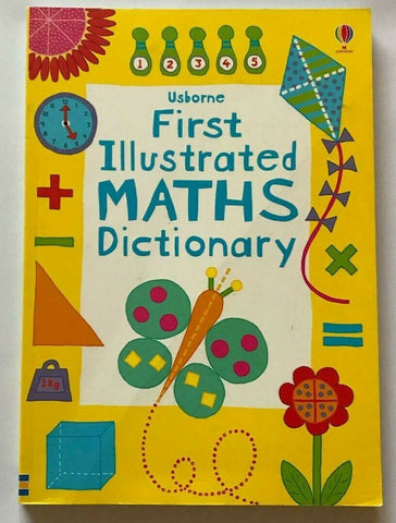 The Usborne First Illustrated Dictionary of Maths KS1 Ages 5+ Like New!!!! - Children Store Co.