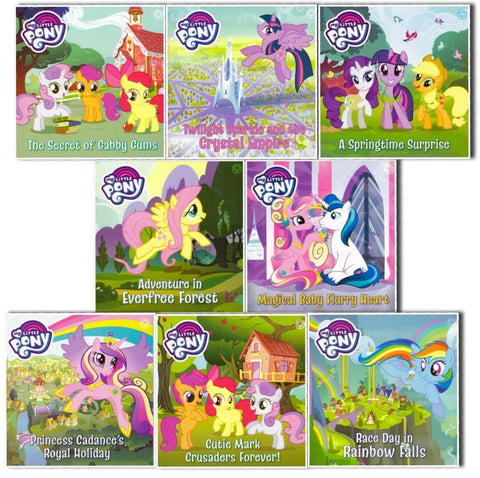 My Little Pony 8 Picture Books Collection Paperback Brand New Collection Ages 3+ - Children Store Co.