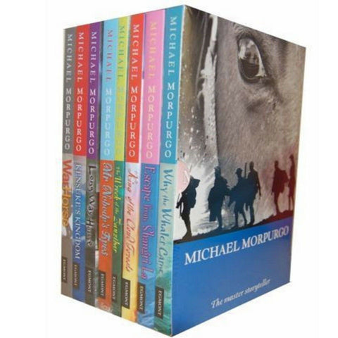 Michael Morpurgo Children Collection 8 Paperback Box Set Slipcase New!!! - Children Store Co.