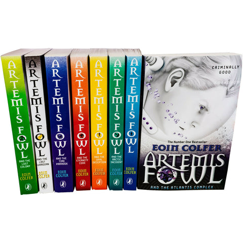 Eoin Colfer Series 8 Books Young Adult Collection 8 Paperback By Artemis Fowl New!!! - Children Store Co.