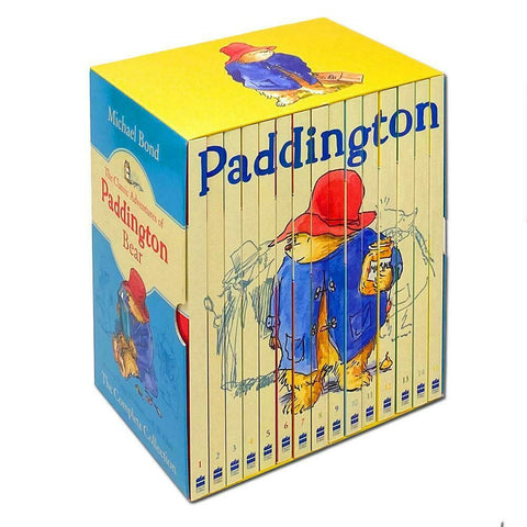 The Classic Adventures Of Paddington Bear Complete Collection 15 Books Box Set by Michael Bond - Children Store Co.