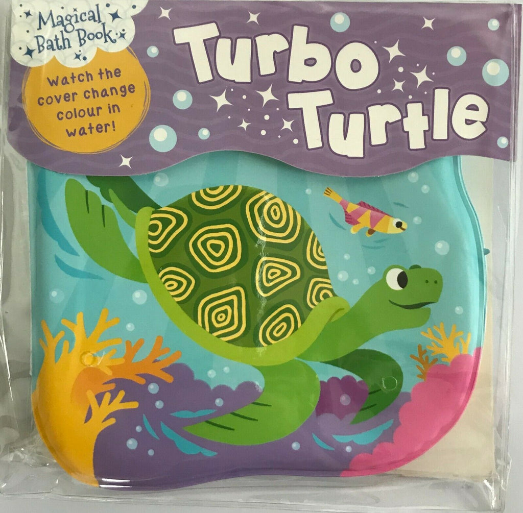 Baby/Kids Turbo Turtle Bath book NEW!!!! - Children Store Co.