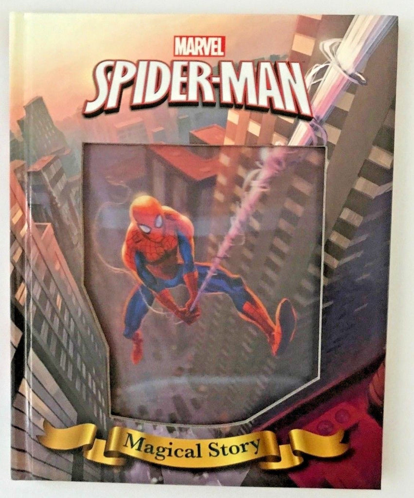 Marvel Spider Man Magical Story book - Children Store Co.
