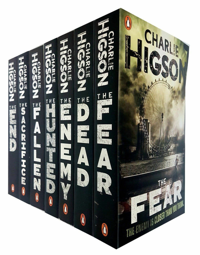 The Enemy Series 7 Book Collection by Charlie Higson Young Adult Fiction Ages 11+ Paperback - Children Store Co.