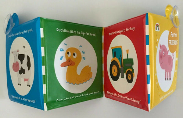 Baby/Kids Farm Friends Bath book NEW!!!! - Children Store Co.