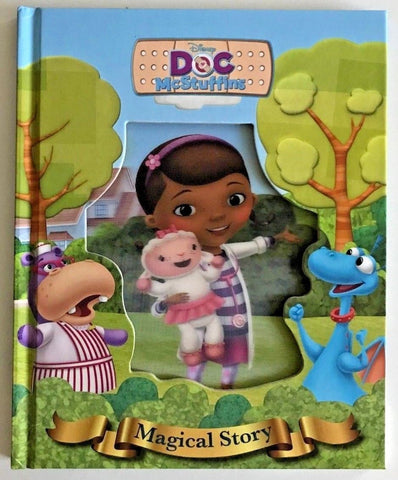 "Disney ""Doc McStuffins"" Magical Story 3D cover Hardback NEW!!!!"