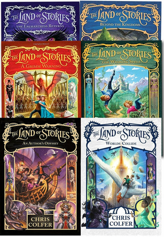 Land of Stories Chirs Colfer Collection 6 Books Set Paperback Children Ages 8+ NEW - Children Store Co.
