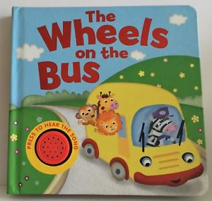 Baby/Kids Sound book Wheels on the bus NEW EDITION!!! - Children Store Co.