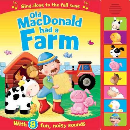 Baby / Kids Old Mac Donald Farm 8 buttons Sound book NEW!!!! - Children Store Co.