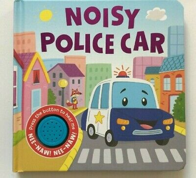 Noisy Police Car Sound book NEW!!!! - Children Store Co.
