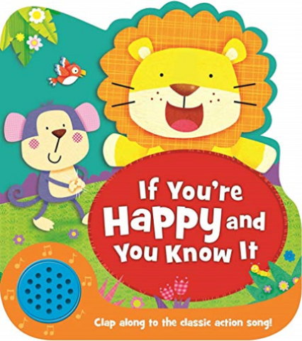 Baby/Kids Shaped Sound book If you happy & you know it NEW!!! - Children Store Co.